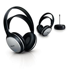 SHC5102/10  Auscultadores Hi-Fi sem fios