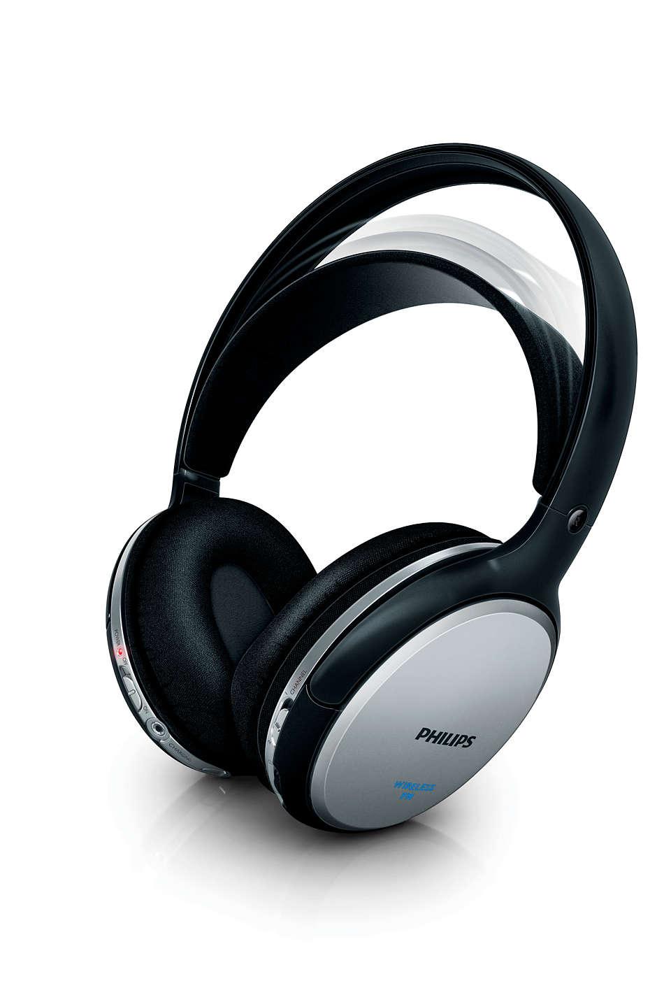 casque audio hifi philips shc5112 sans fil