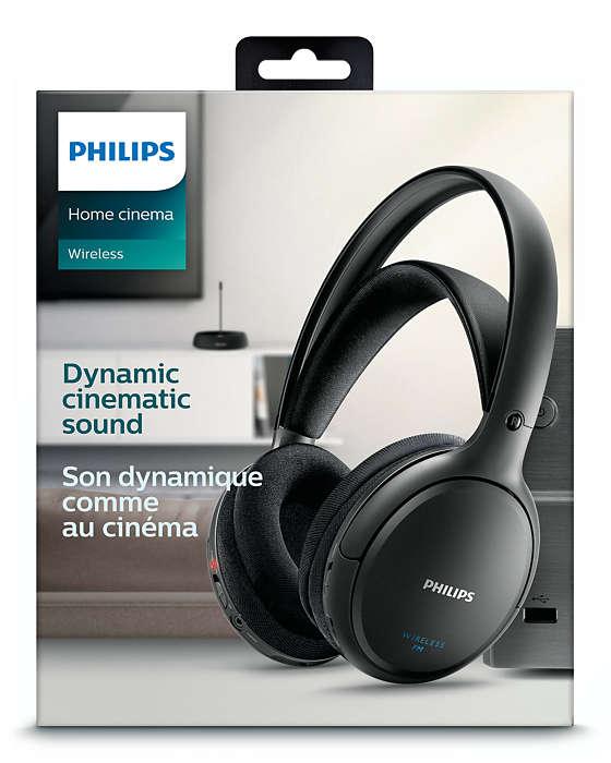 1468f9c8993 Wireless Hi-Fi Headphone SHC5200/05 | Philips