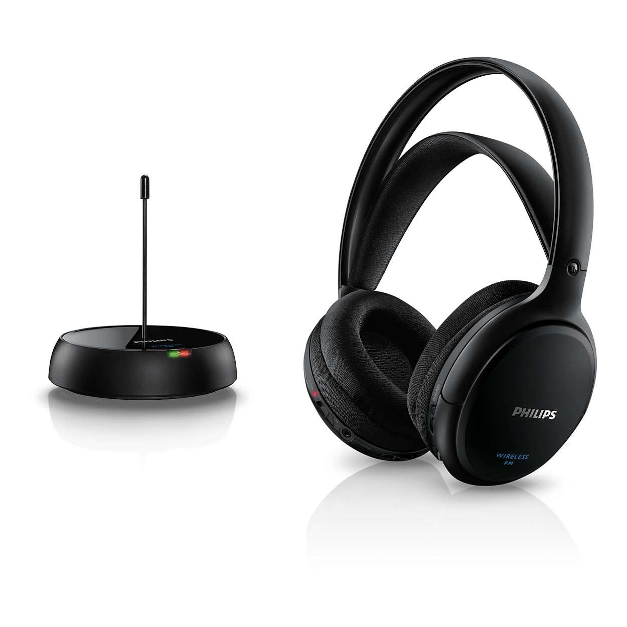 casque audio sans fil philips branchement