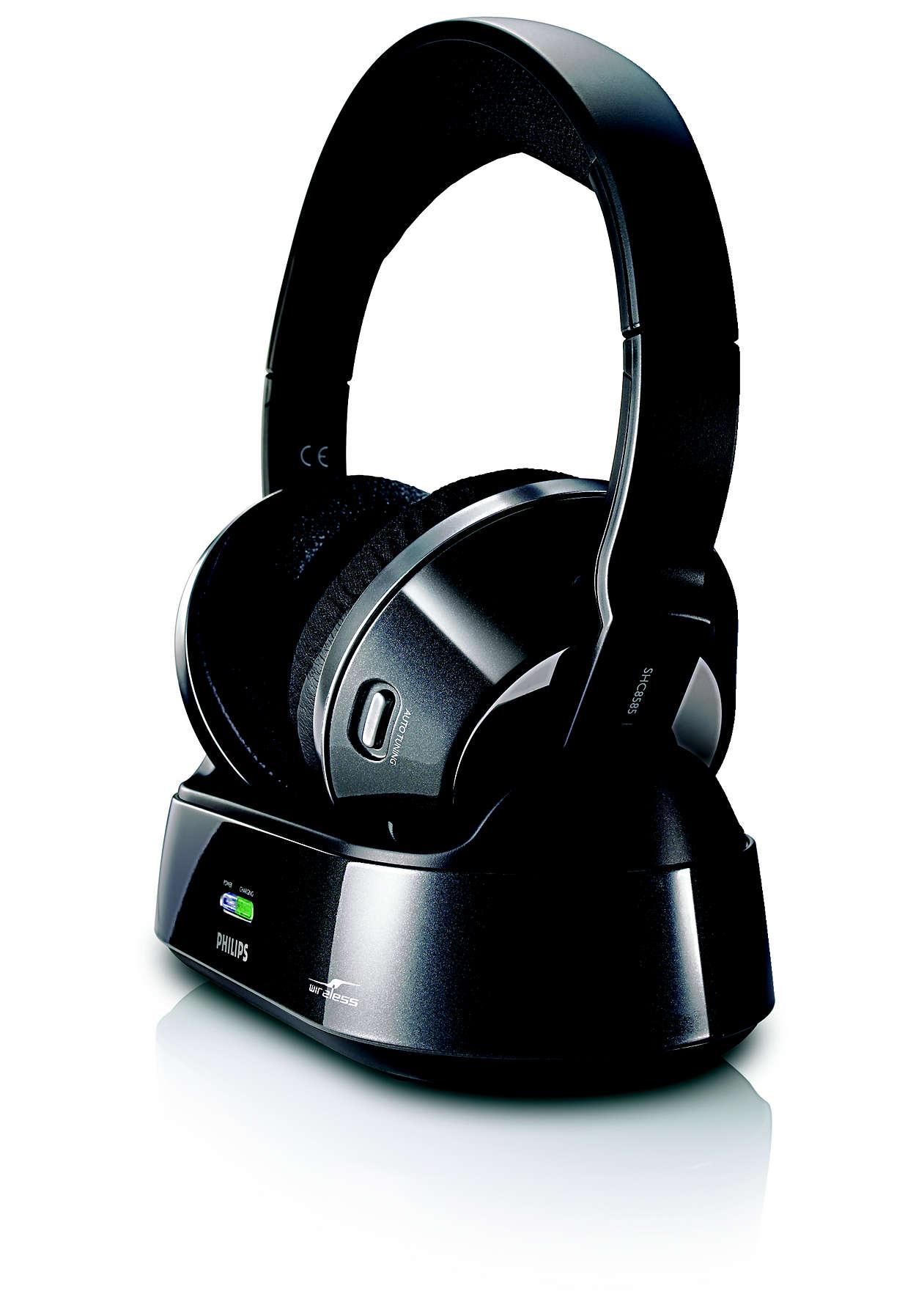 de4b24e35cf Wireless home cinema headphones SHC8585/00 | Philips