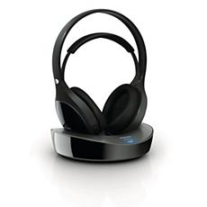 SHD8600/10  Digital wireless headphones