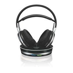 Digital wireless headphones