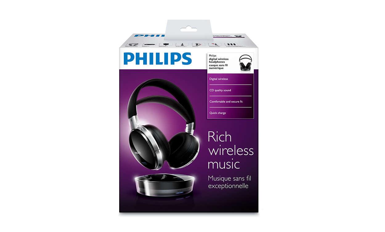 Cuffie wireless digitali SHD8900 00  8e46f53961fa