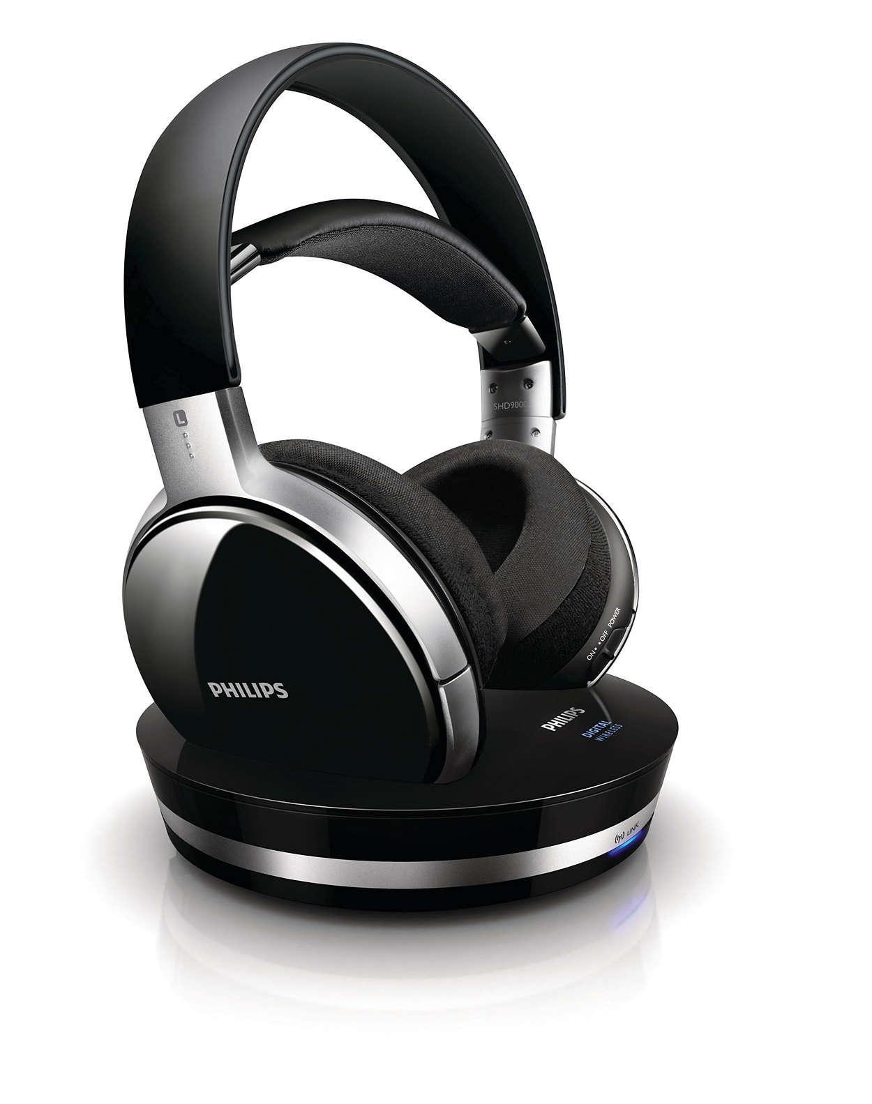 Ægte CD-lydkvalitet med digital trådløs