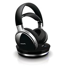 SHD9000/10  Digitale draadloze hoofdtelefoon