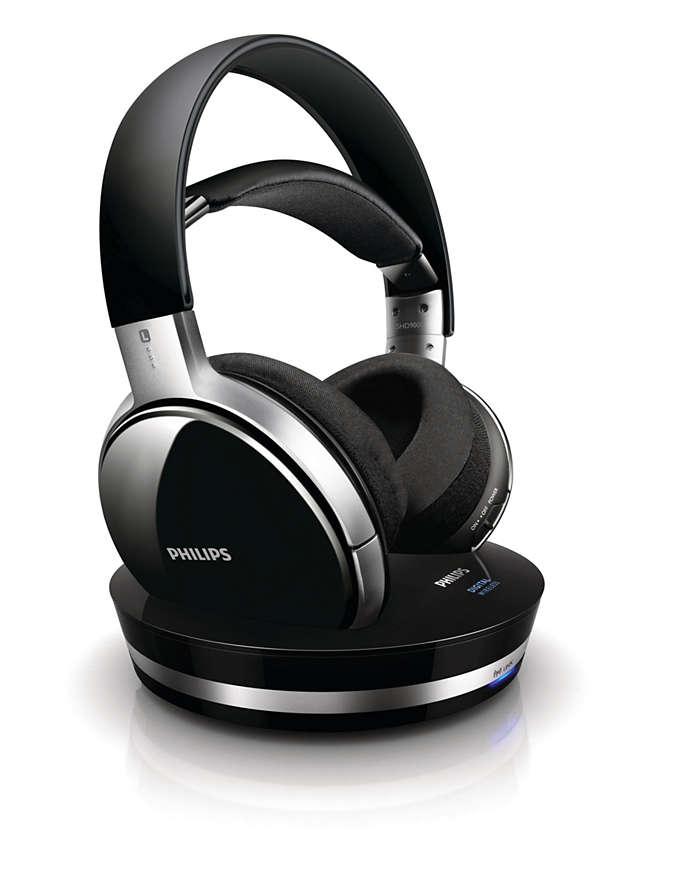 Äkta CD-ljudkvalitet med digital trådlös teknik