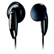 Philips Earbud headphones SHE1350 14.8mm drivers/open-back Earbud