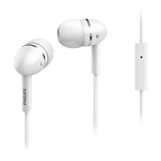 SHE1455WT/10  Слушалки за поставяне в ушите