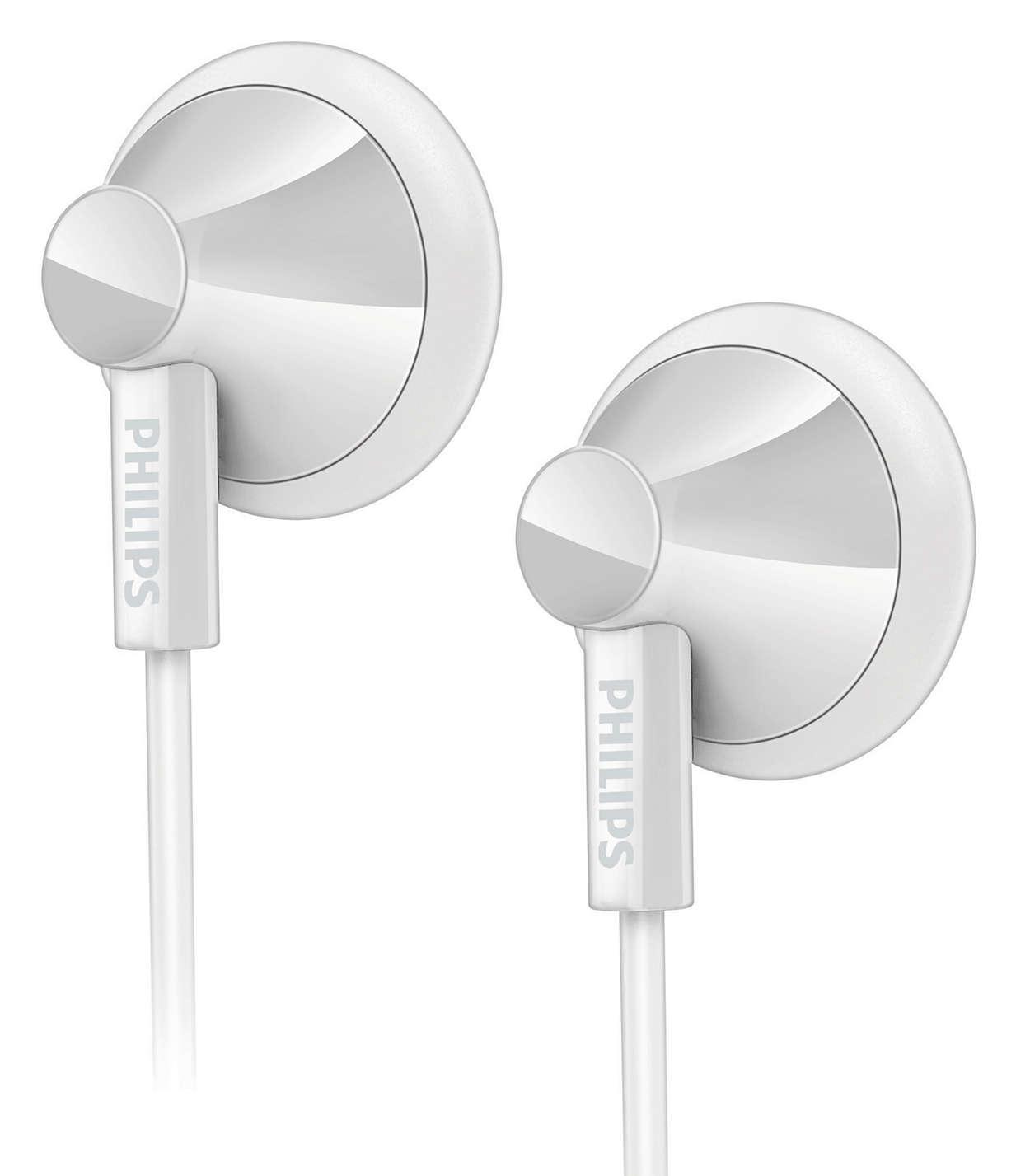 Cómodos audífonos