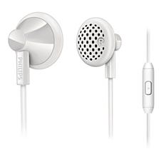 SHE2105WT/00  Écouteurs intra-auriculaires