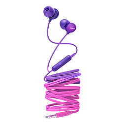 UpBeat In-ear headphones with mic