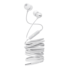 SHE2405WT/00 UpBeat Sluchátka do uší smikrofonem
