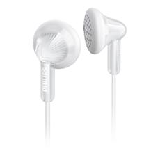SHE3010WT/00 -    Hörlurar i öronsnäcksmodell
