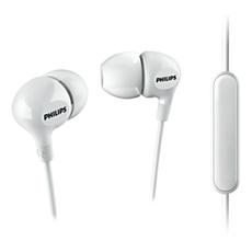 SHE3555WT/00  Mikrofonlu kulaklık