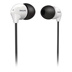 SHE3570BW/10 -    Audífonos intrauditivos
