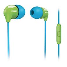 SHE3575BG/10 -    Douszny zestaw słuchawkowy