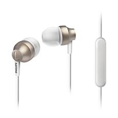 SHE3855GD/00 -    Hörlurar med mikrofon