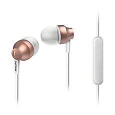 SHE3855RG/27 -    In ear headphones with mic