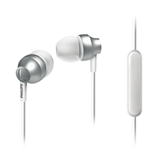 SHE3855SL/27  In ear headphones with mic
