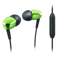 SHE3905GN/00  Écouteurs intra-auriculaires avec Micro