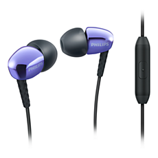 SHE3905PP/00  In-ear headphones with mic