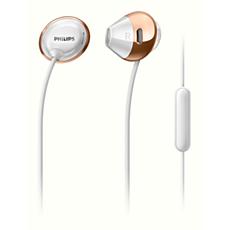 SHE4205WT/00 -   Flite 帶麥克風耳機