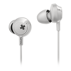 SHE4300WT/00 BASS+ Headphones