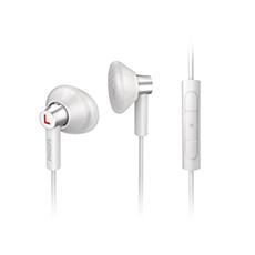 SHE4607WT/00  Auscultadores com auriculares