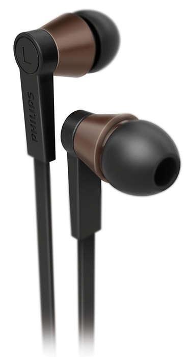 Deleitate con el sonido nítido y natural
