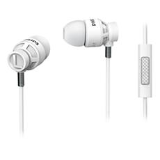 SHE5205WT/00 -    Słuchawki z mikrofonem
