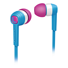 SHE7050BL/00  Headphone In-Ear CitiScape