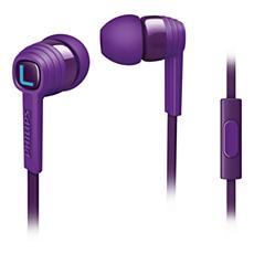SHE7055PP/00 -    CitiScape In-Ear Headphones