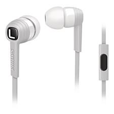 In-ear/ear-bud headphones