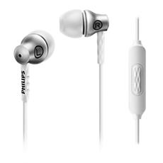 SHE8105SL/00  Слушалки за поставяне в ушите с микрофон
