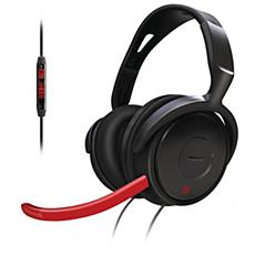 SHG7980/10  Ακουστικά για παιχνίδια υπολογιστή