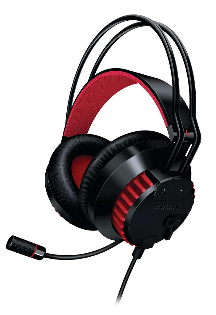pc headset f r gaming shg8200 10 philips. Black Bedroom Furniture Sets. Home Design Ideas