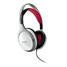 SHH8608/00  Hörlurar med huvudband