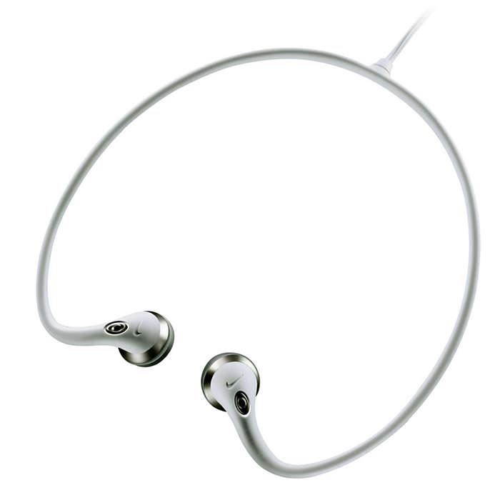 Nackband med låg vikt och smart kabeldesign