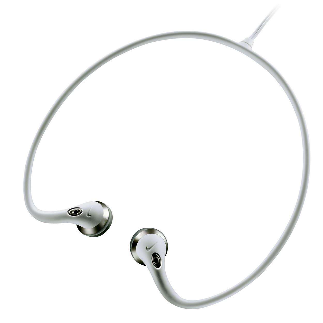 具智慧纜線設計的輕巧頸帶