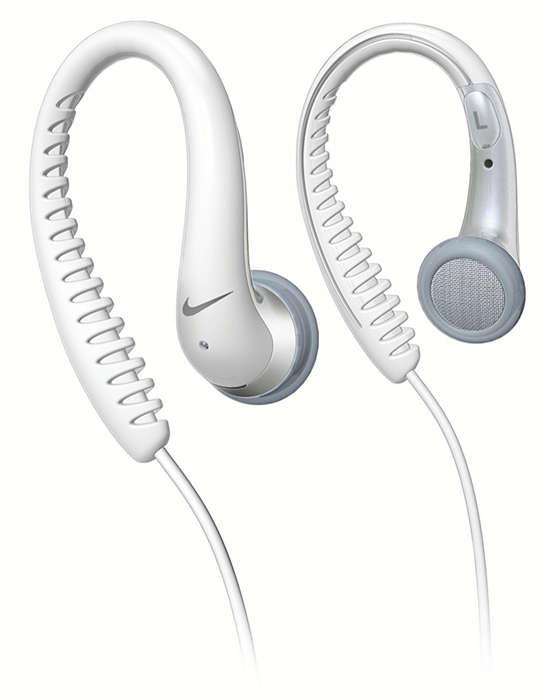 Flexible rubberized earhook