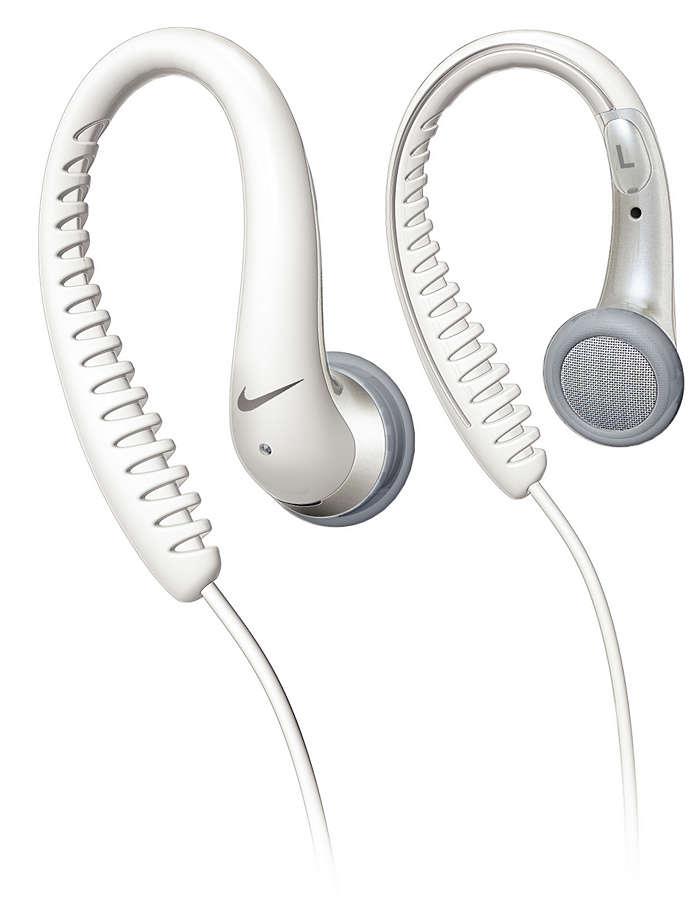 Flexible rubberised ear hook