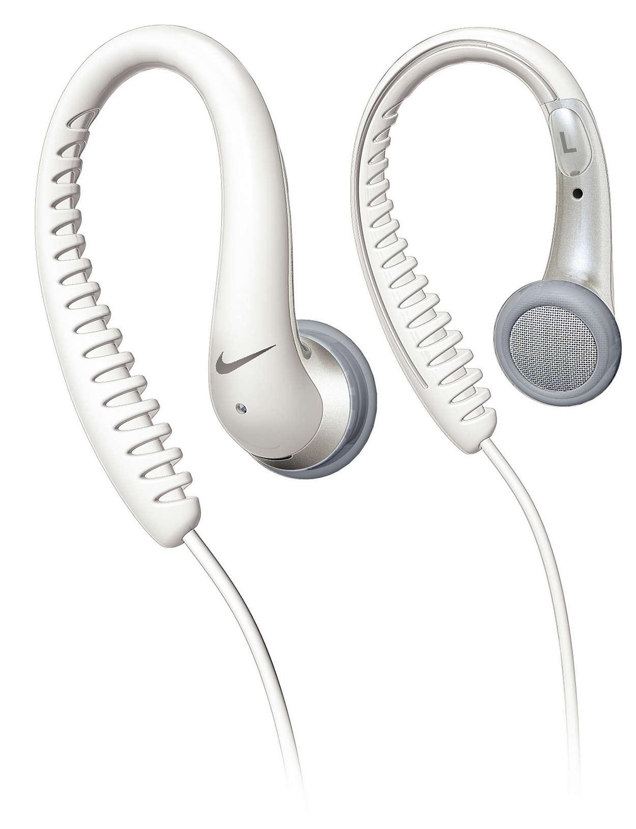 Elastyczne, pokryte gumą nakładki na uszy