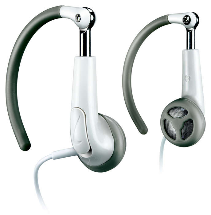 Fully flexible ear hook