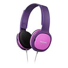 SHK2000PK/00 -    Słuchawki dla dzieci
