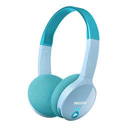 Draadloze Bluetooth®-hoofdtelefoons voor kinderen