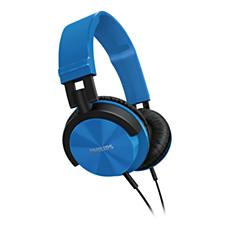 SHL3000BL/00 -    Hörlurar med huvudband