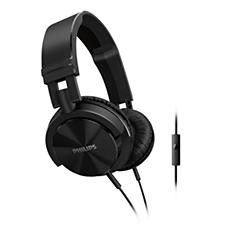 SHL3005BK/00 -    Hörlurar med mikrofon