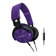 SHL3005PP/00 -    Hörlurar med mikrofon