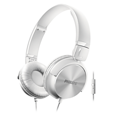 SHL3065WT/00  ヘッドフォン/マイク付き